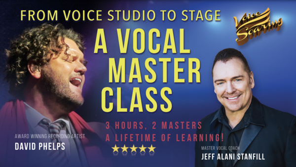From Voice Studio to Stage Master Class