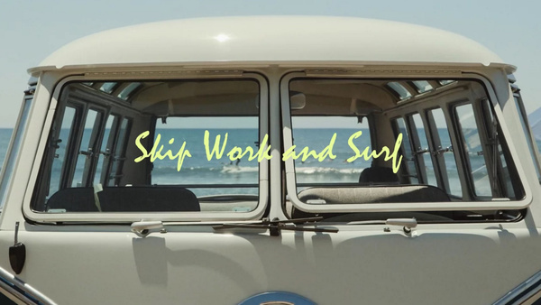 Skip Work and Surf